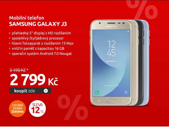 Mobilní telefon Samsung Galaxy J3