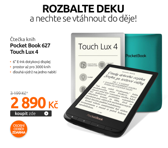 Čtečka knih Pocket Book 627 Touch Lux 4