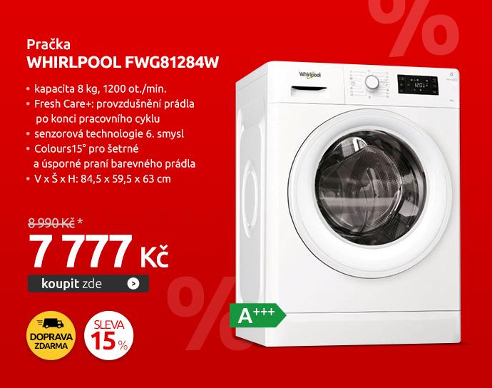 Pračka Whirlpool FWG81284W