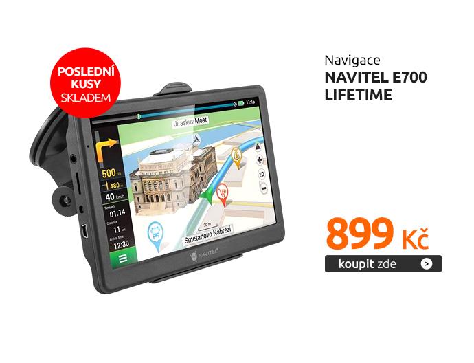 Navigace Navitel E700 Lifetime