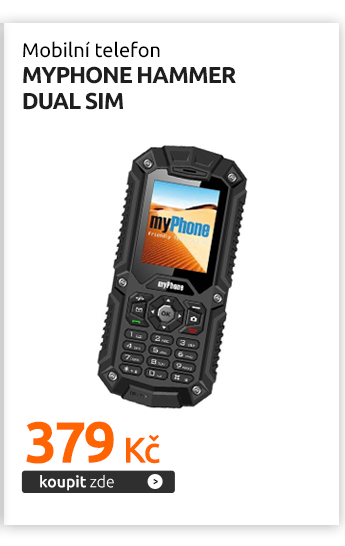 Mobilní telefon myPhone HAMMER DUAL SIM
