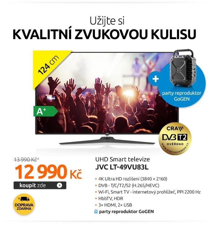 UHD Smart televize JVC LT-49VU83L