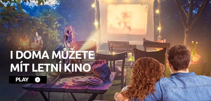 I DOMA MŮŽETE MÍT LETNÍ KINO >>PLAY<<