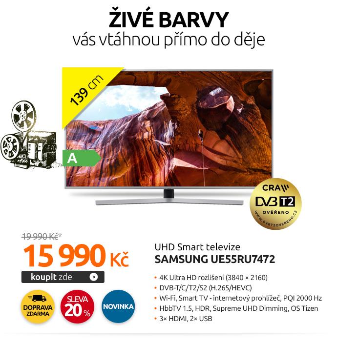 UHD Smart televize Samsung UE55RU7472