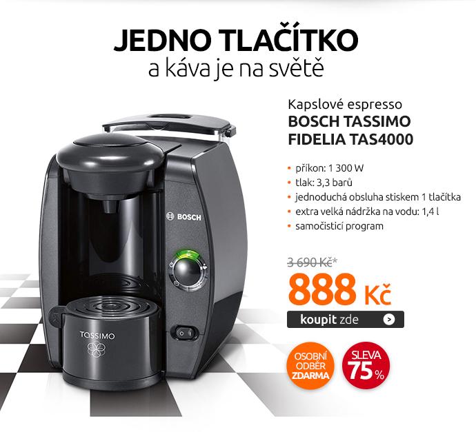 Kapslové espresso Bosch Tassimo FIDELIA TAS4000