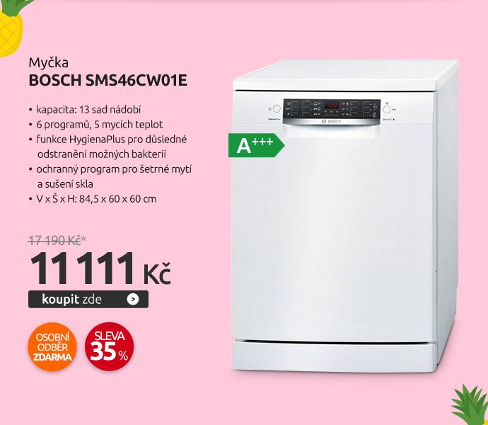 Myčka Bosch SMS46CW01E