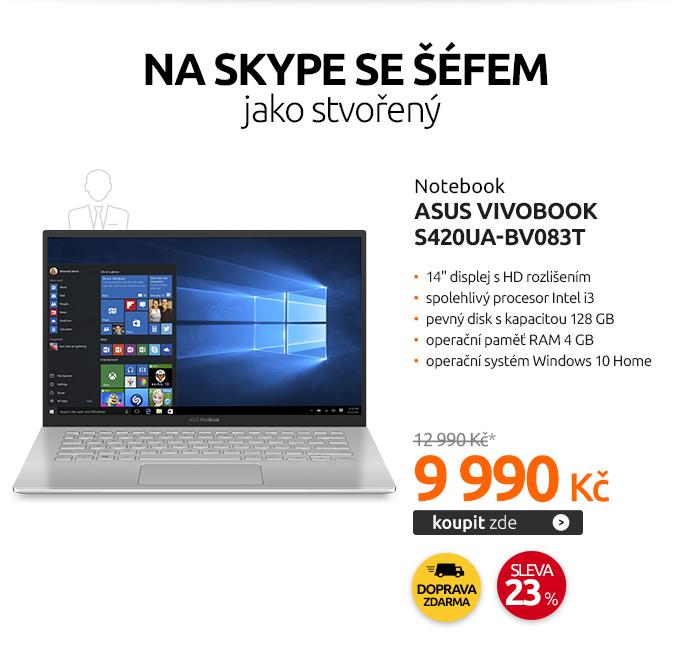 Notebook Asus VivoBook S420UA-BV083T