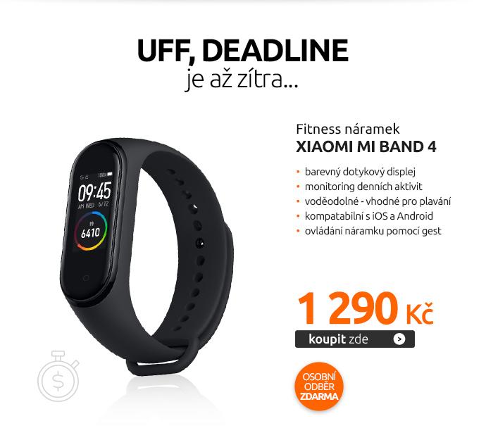 Fitness náramek Xiaomi Mi Band 4