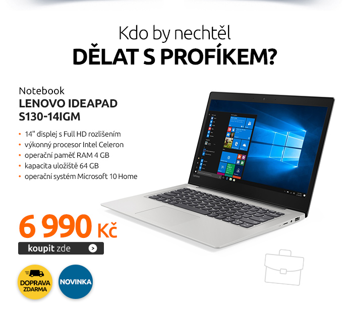 Notebook Lenovo IdeaPad S130-14IGM