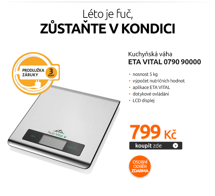 Kuchyňská váha ETA Vital 0790 90000