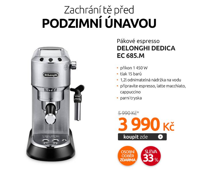 Pákové espresso DeLonghi DEDICA EC 685.M