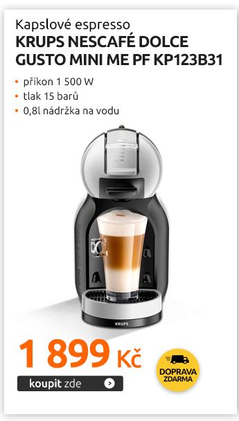 Kapslové espresso Krups NESCAFÉ Dolce Gusto Mini Me PF KP123B31
