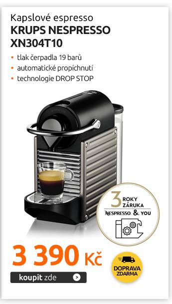 Kapslové espresso Krups Nespresso XN304T10