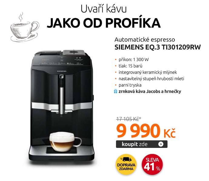 Automatické espresso Siemens EQ.3 TI301209RW
