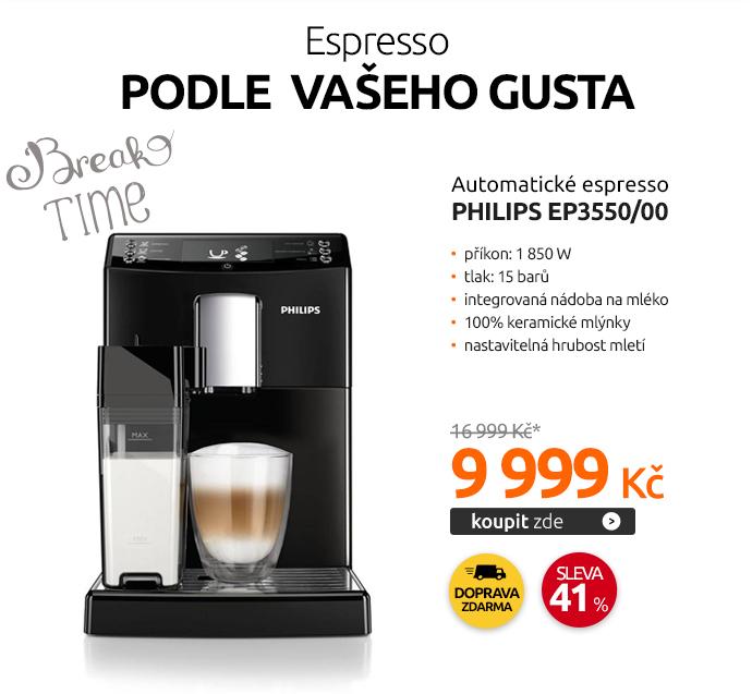 Automatické espresso Philips EP3550/00