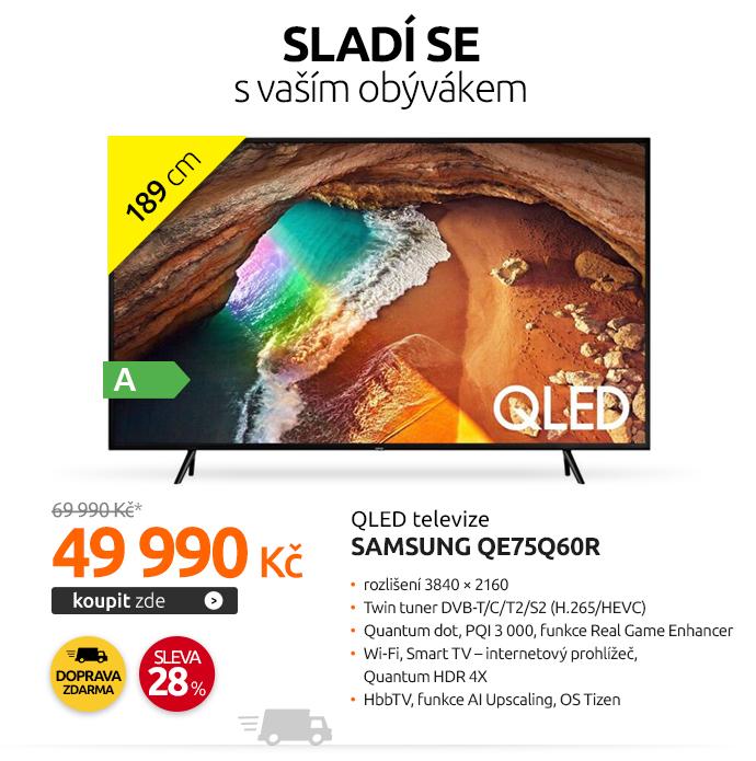QLED televize Samsung QE75Q60R