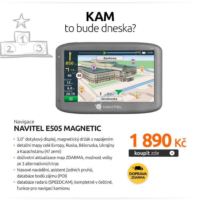 Navigace Navitel E505 Magnetic