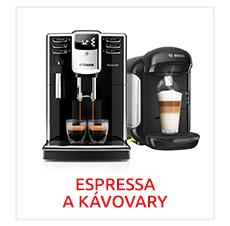 Bazar Espressa a kávovary