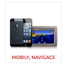Bazar Mobilní telefony, Navigace